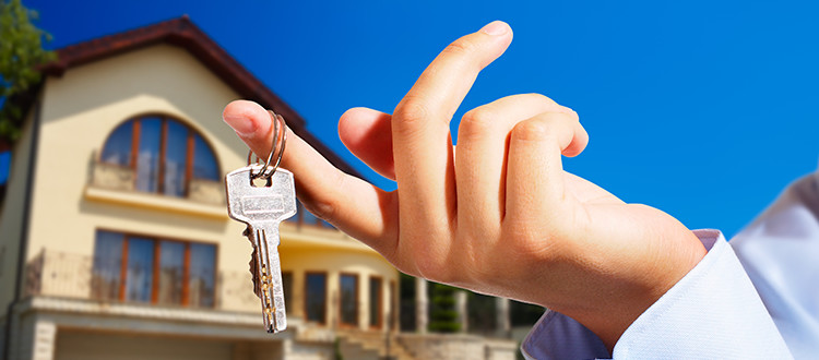 Getting the Keys to a House trying to be sold can be fun