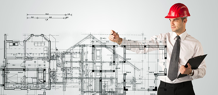 Developers Charting Out Sketch Of House